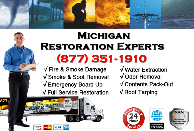 Michigan Fire Damage Restoration Company