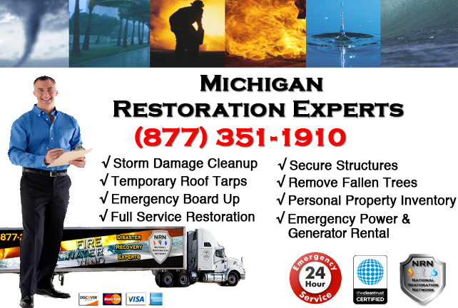 Michigan Storm Damage Repairs & Cleanup