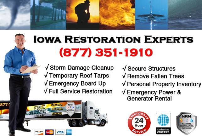 Iowa Storm Damage Cleanup