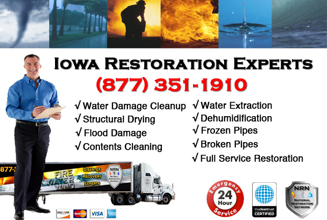 Iowa Water Damage Cleanup