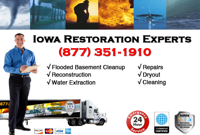 Iowa Flooded Basement Cleanup