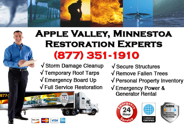Apple Valley Storm Damage Cleanup