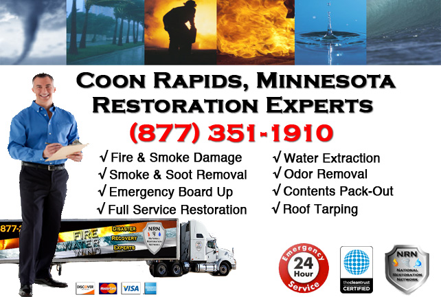 Coon Rapids Fire Damage Contractor