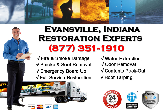 Evansville Fire & Smoke Damage Repairs