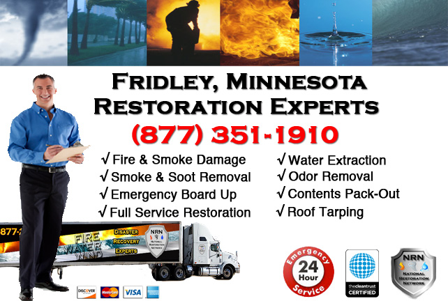 Fridley Fire Damage Contractor