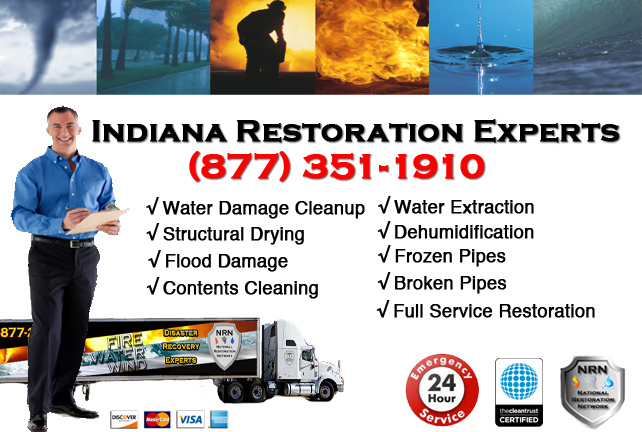 Indiana Water Damage Restoration
