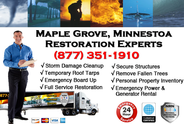 Maple Grove Storm Damage Cleanup