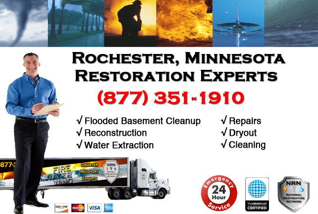 Rochester Flooded Basement Cleanup & Repairs