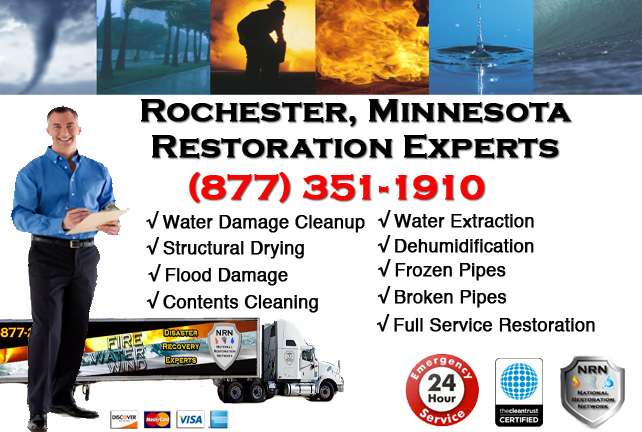 Rochester Water Damage Cleanup & Repairs