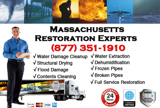 Massachussetts Water Damage Restoration