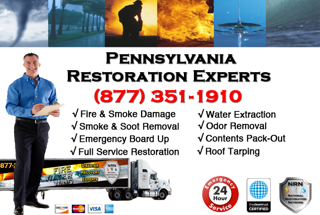 Pennsylvania Fire and Smoke Damage Repairs