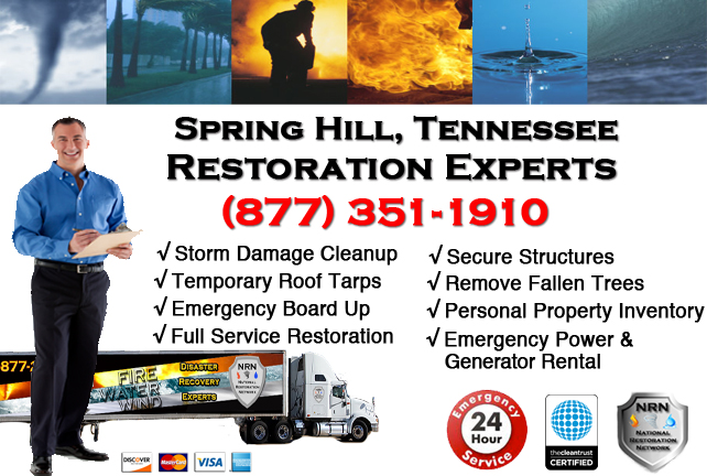 Spring Hill Storm Damage Repairs