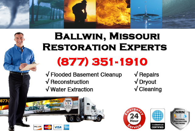 Ballwin Flooded Basement Cleanup Company