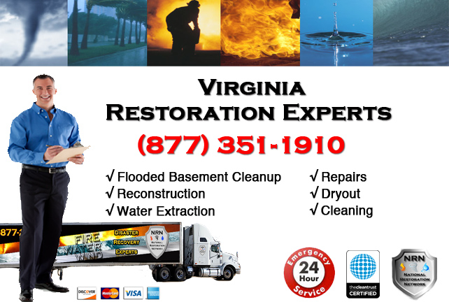 Virginia Flooded Basement Cleanup