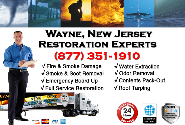 Wayne Fire Damage Restoration Contractor