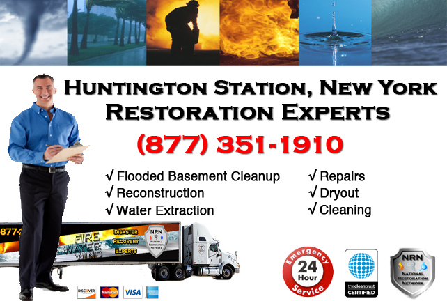 Huntington Station Flooded Basement Cleanup