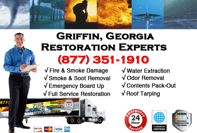 Griffin Fire Damage Cleanup Contractor