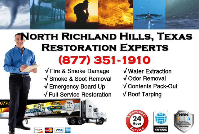 North Richland Hills Fire Damage Restoration Contractor