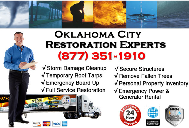 oklahoma city disaster cleanup