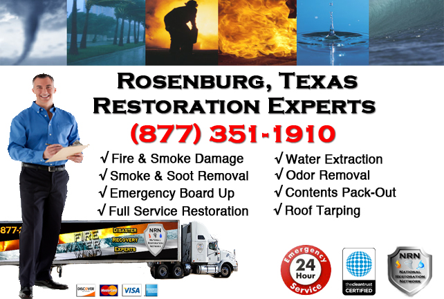 Rosenberg Fire Damage Restoration Contractor