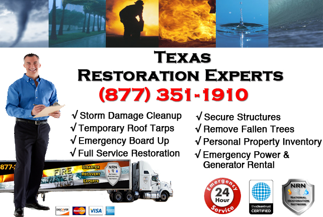 Texas Storm Damage Cleanup