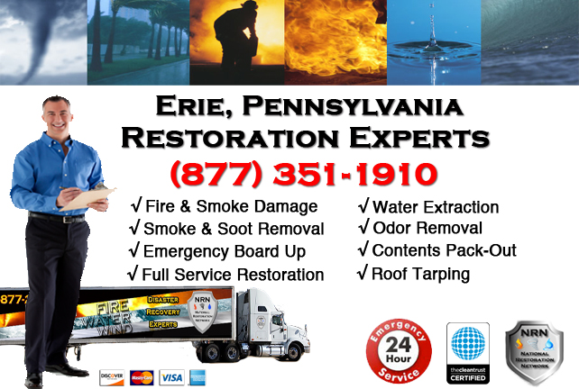 Erie Fire and Smoke Damage Repairs