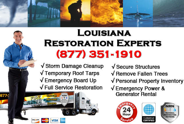 Louisiana Storm Damage Cleanup