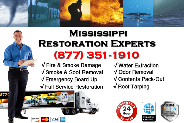 Mississippi Fire Damage Restoration Contractor