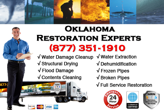 Oklahoma Water Damage Restoration