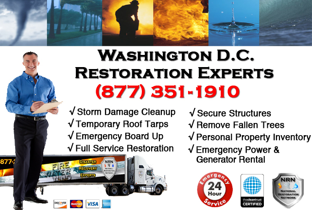 Washington DC Storm Damage Cleanup
