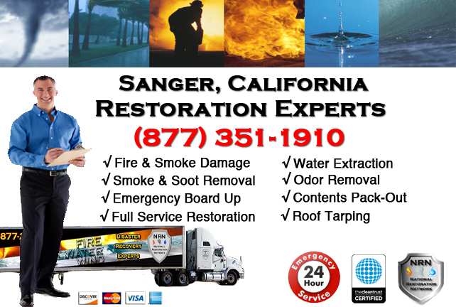 Sanger Fire Damage Restoration Contractor