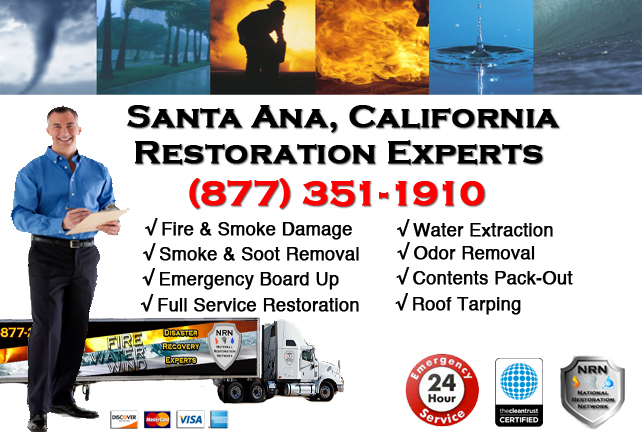 Santa Ana Fire Damage Restoration Contractor